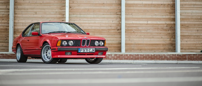 BMW 635CSi Automotive photography